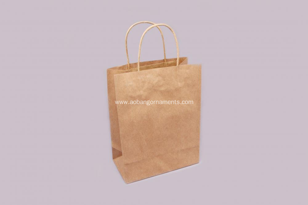 High quality custom  kraft  paper bag