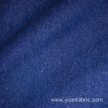 Blue 100% Cotton Fabric 8oz Washed Denim