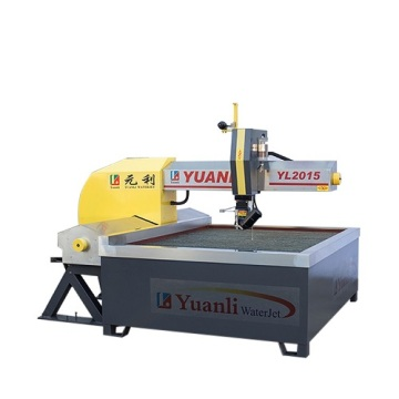 Small waterjet table for tile cutting services