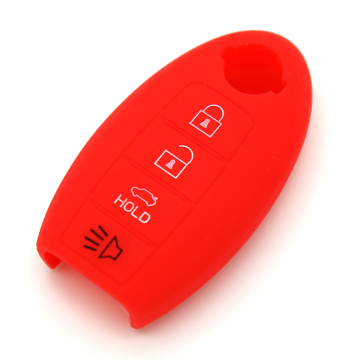 Flexible Silicone Key Shell For Nissan