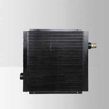 Air Compressor After Cooler With Pneumatic Fan