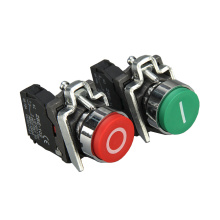 XB4-BA3311 Pushbutton Switch with Marking