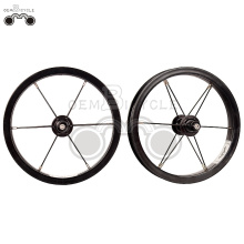 black 6061 alloy rim 12H 12inch wheel set