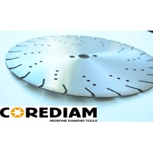 Precision Laser Welded Concrete Saw Blade