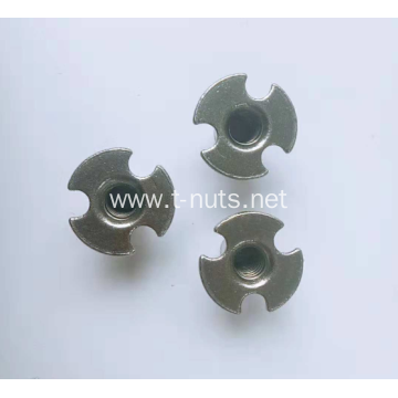 Full thread Stainless steel The tray nut