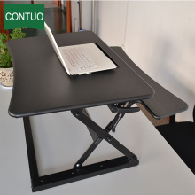 Hot sale Factory for Office Desk Converter Adjustable Sit Stand Ergonomic Standing Lap Desk Topper export to Finland Factory