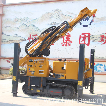 300M Water Well Drilling Rig With Air Compressor