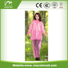 Cute Reflective PVC Waterproof Pants Raincoat Rainsuit