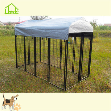 Waterproof outdoor large square tube dog kennel pen