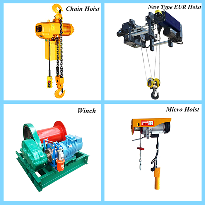 HC type heavy duty electric hoist for crane