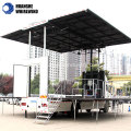 used mobile stage trailer