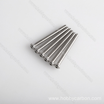 Kwalità Għolja Stainless Steel Hex Half Thread Screw
