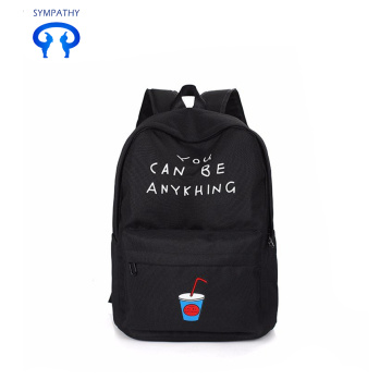 Backpack personality fashionable student bag travel bag