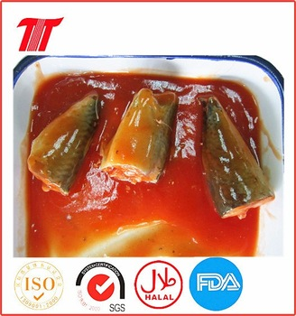 155g Canned Mackerel in Tomato Sauce
