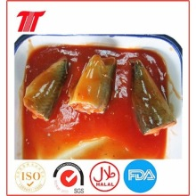 OEM for Healthy Canned Fish Canned Sardines in Tomato Sauce 125g supply to Yugoslavia Importers
