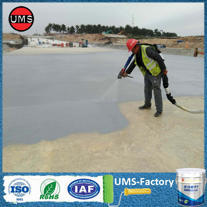 Polyurea elastomer coating applications bridge coating