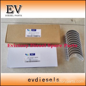 DOOSAN engine DE08 bearing crankshaft con rod conrod