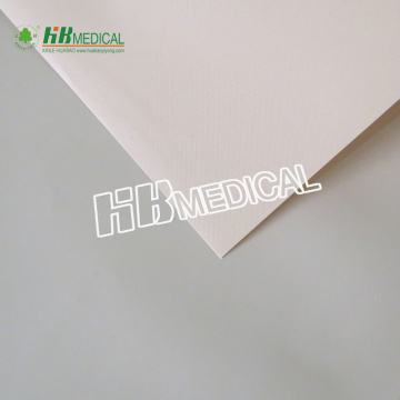 Extruded PE film for woundplast