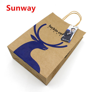 Custom Brown Paper Bag
