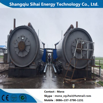 Sales Service Provided Tire Oil Recycling Plant