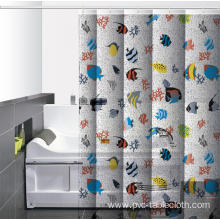 Waterproof Bathroom printed Shower Curtain Clips