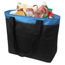 Canvas Shopping Cooler Bag with Food Container