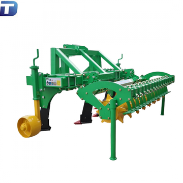 Tractor three point linkage subsoiler cultivator