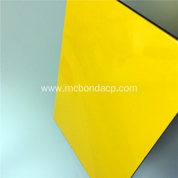 Decorative PVDF Metal Composite Panel for Bar Counter