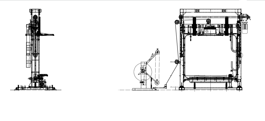 strapping machine drawing