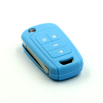 4 Button Flip Car Key Cover For Chevrolet