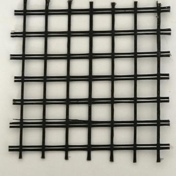 Fiber Glass Geogrid For Soil Reinforcement