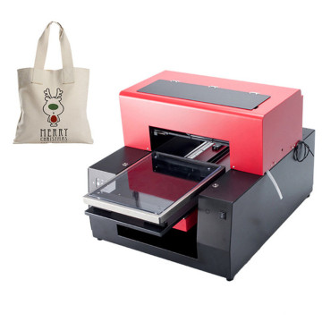 Flatbed Canvas Bag Printing Machine
