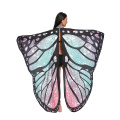 Butterfly Wings Shawl Fairy Soft Fabric for Women Ladies Party Nymph Costume Accessory