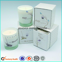 Custom Candle Paperboard Box Packaging For Jar