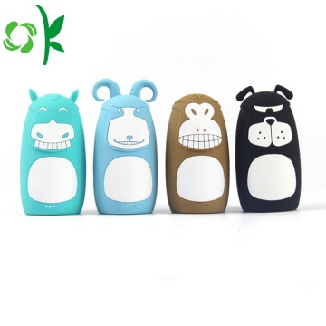 Cartoon Powerbank Case Portable External Battery Cover