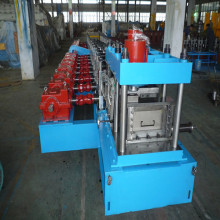 Low Cost for C/Z/U Purlin Making Machine Fully automatic CZU purlin roll forming machine supply to United States Supplier