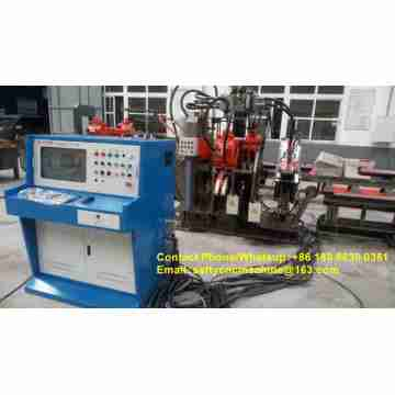 Angle Punching and Shearing Machine
