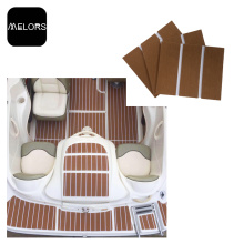 Best Quality for Eva Faux Teak Deck Sheet Melors Marine Faux Mat Decking EVA Deck Boat supply to United States Factory