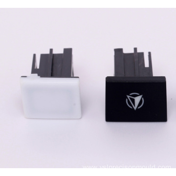Two Colors Plastic Injection Logo Accessories