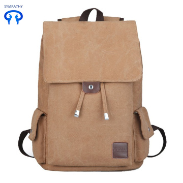 A simple canvas backpack for students