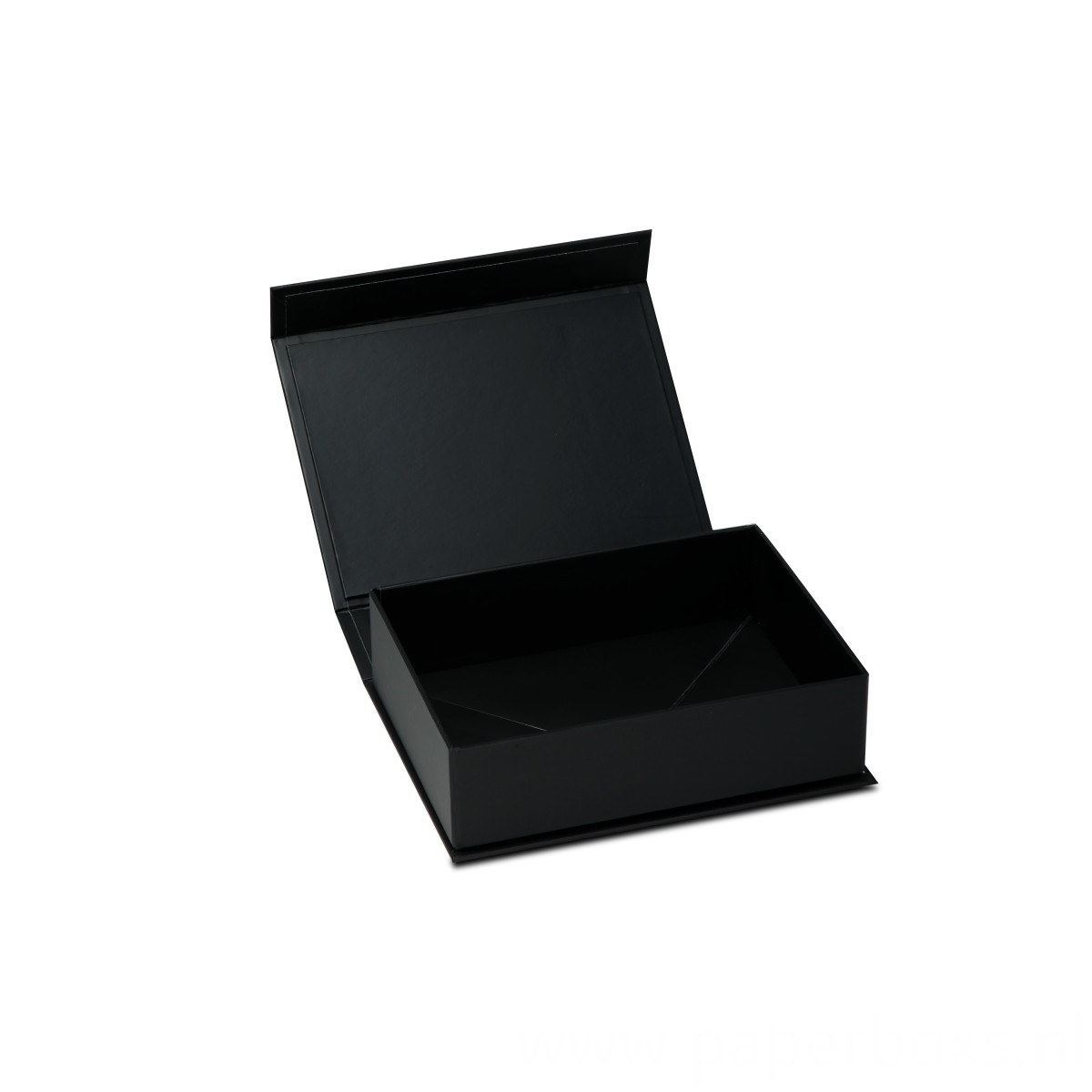 Cailang Printing black collapsible box with side way folding