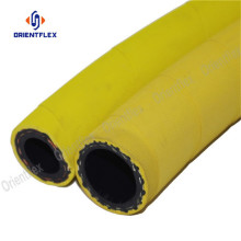 Yellow flexible wrapped oil resistant air hose 300psi