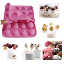 Food Safety Silicone Cake Pop Molds Tasty Top