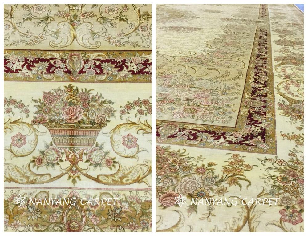 oversize Oriental carpet