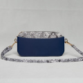 women small navy outdoor shoulder travel bag/customized EVA products