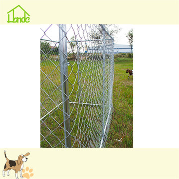 Metal galvanized large wire dog kennels