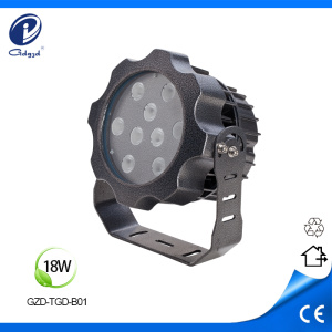 Commercial LED Flood light fixtures White color