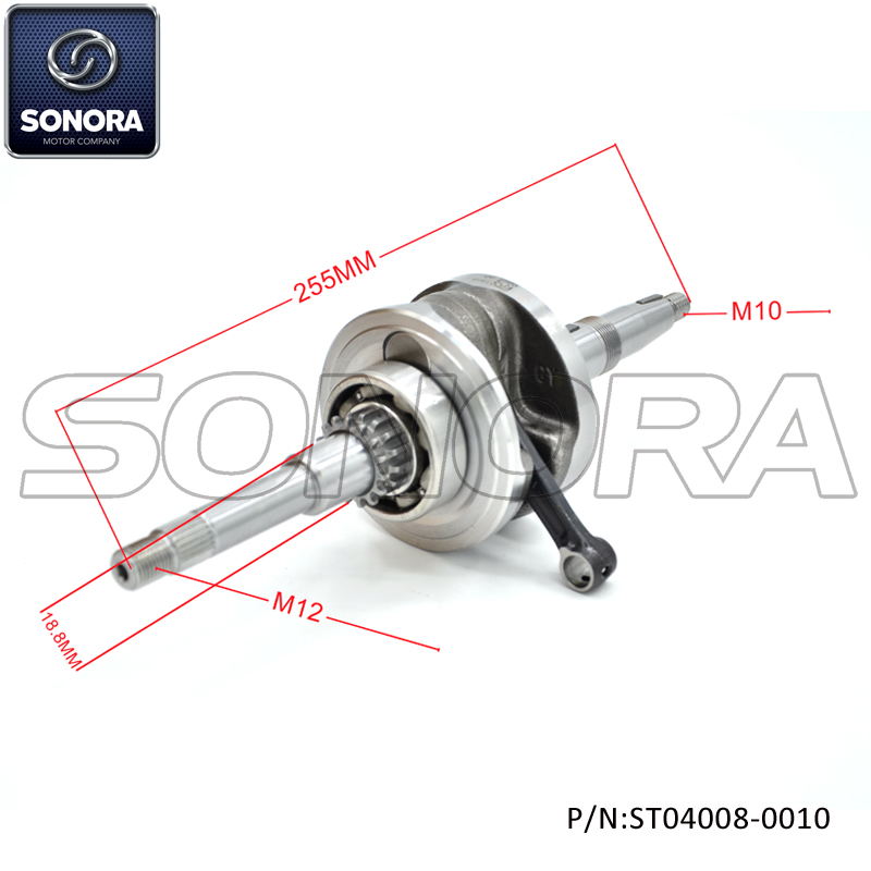 ST04008-0010 Crankshaft for SYM ORBIT 50 (2)