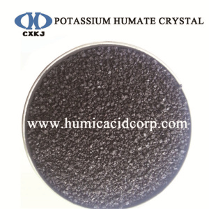 Super potassium humate shiny crystal