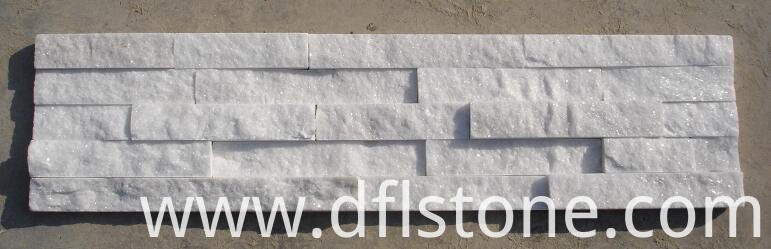 White ledge stones